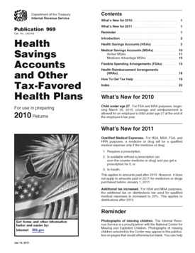 explained irs publication 969 hsa 2012 related posts publication